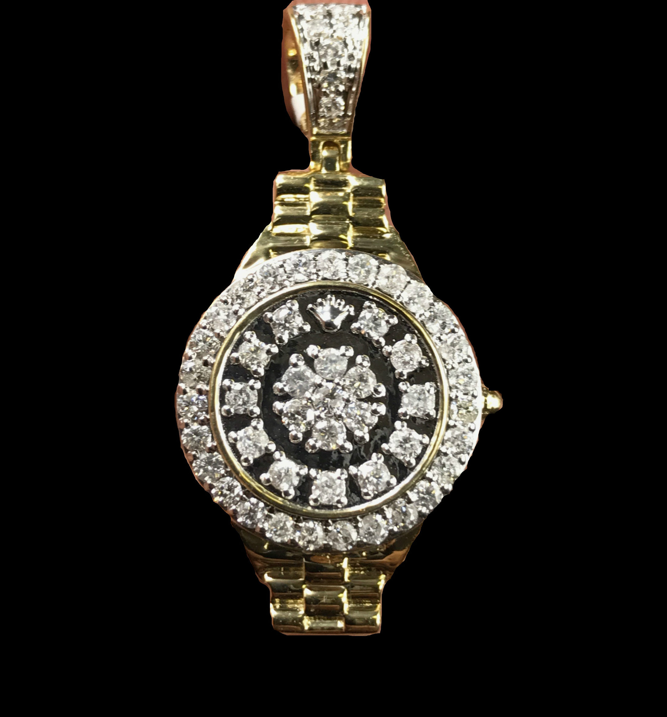 Diamond rolex watch pendant frostbid the product is already in the wishlist browse wishlist mozeypictures Gallery